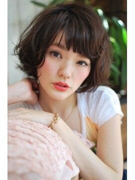 ミンクス ギンザ(MINX ginza)新垣結衣風 大人可愛い柔らかショートボブ