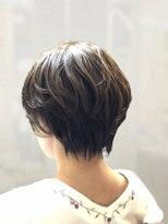 ソフトヘアカッターズ(soft HAIR CUTTERS)30代40代50代大人ハイライト☆レイヤー小顔丸みショート