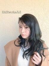 ヘアーワークス ジジ(HAIR works JIJI)大人透け感クールなブルー!