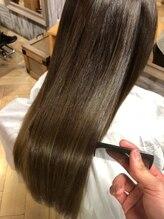 ナナナパレナ 心斎橋店(nanana parena)髪質改善専門サロン自慢の縮毛矯正で艶髪ストレート♪