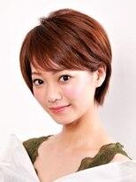 フィンセント 新高円寺店(VINCENT)耳に掛けられるひし形ショートボブ/年齢問わずおすすめショート
