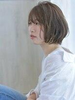ヘアアンドメイク アリス(hair&make ALICE produce by COLT)ショートボブ&グロスベージュ