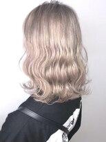 ソース ヘア アトリエ 京橋(Source hair atelier)【SOURCE】ホワイトミルクティー