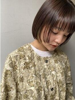 グルグル 新小岩店(GULGUL)の写真/「縮毛・ストレートは痛む」の概念を覆す*従来の縮毛矯正よりダメージを軽減した薬剤を使用!【新小岩】