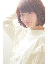 ヘアーアンジェ グロウ(Hair ange grow)【Hair ange grow】ふわふわナチュラル☆ショートボブ