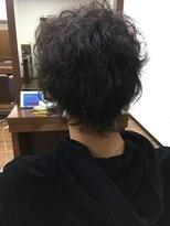 アールピクシー(Hair Work's r.Pixy)メンズ スパイラルパーマ
