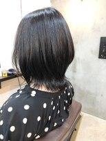 エトネ ヘアーサロン 仙台駅前(eTONe hair salon)大人可愛い20代30代40代小顔ひし形ミディアム前下がり