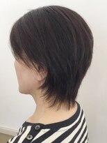 ヘアークリアー 春日部頭のラインがきれいに見えるショート【hairclear】