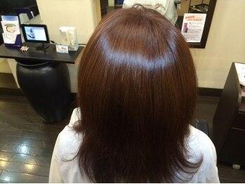 ヘアメイク サン(Hair Make Sun)の写真/《川名/御器所/吹上》カット+フルカラー+サプリチャージ¥5400!!プチプラ×高級薬剤で叶える圧倒的ツヤ!!