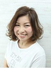 ヘアーアンドネイルサロンブルー(hair & nail salon BLUE)楽カワ☆ふんわりボブスタイル☆