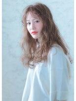 オゥルージュ(Au-rouge noma)【aurouge noma 柳瀬香里】シフォンベージュ×リラクシーカール