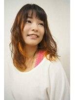 【&*again】オトナ女子グラデーション&ポイントカラー