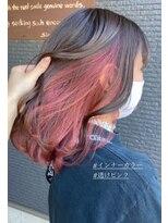 ヘアアンドビューティー クローバー(Hair&Beauty Clover)inner pink