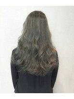 ブルックリンヘアー(BROOKLYN HAIR)THROWカラー×ナチュラルハイライト