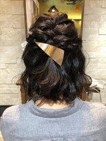 アイビーヘアー(IVY Hair)ハーフアップアレンジ