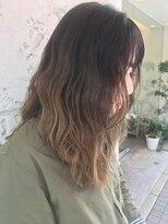 ヘアーエスクール 本店(hair S.COEUR)グラデーションカラー