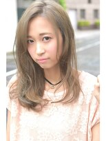 ヘアーサロン エール 原宿(hair salon ailes)(ailes原宿)style127 ミルクティーカラー☆グレークリアベージュ