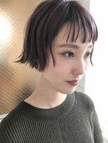 チクロヘアー(Ticro hair)【ticro大石】ミニボブラベンダー