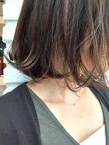 ジーナハーバー(JEANA HARBOR)【JEANAHARBOR、後藤】27歳から遊ぶ、毛先揺れるくせ毛ボブ!
