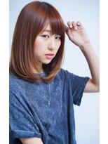 ミンクス 銀座中央通り店(MINX)ツヤ髪ナチュラルストレート 簡単スタイリング