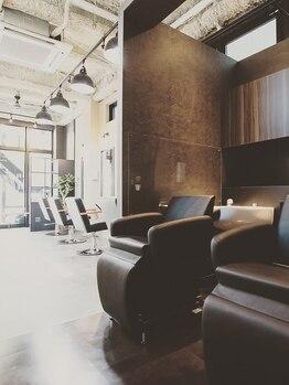 カジノ(CASINO)の写真/あなただけの専属美容師があなただけの空間で生活習慣や髪の悩みをしっかりカウンセリング!