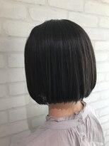 ヘアーアンドメイククリアー(Hair&Make CLEAR)切りっぱなしワンレンボブ