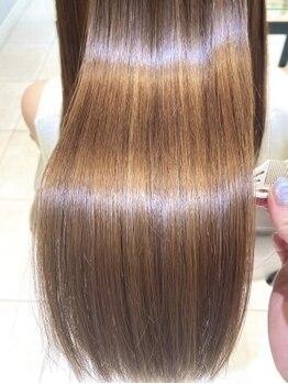 ネオリーブギンザ(Neolive GINZA)の写真/艶や手触りが変わったとの声多数♪髪内部の組織を修復する反応型トリートメントだから実感できる!