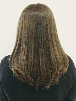 ヘアートープ ウニコ(life and hair design Hair Tope unico)の写真/毛先までうるんっと滑らかな仕上がりを実感◎こだわりの【4Stepトリートメント】で理想のツヤ感スタイルへ!