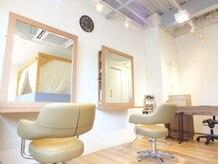 アウリィヘアースペース(Aulii hair space)の雰囲気(≪2席のみ≫プライベート空間で落ち着いて施術を受けられます♪)