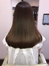 フラップ(FLAP Hair Design)重め ストレート