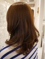 ヘアー カラー キー(HAIR color KEY)艶カラー美人ロング