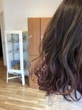 ストーリー(STORY by Natural Hair)すそカラー