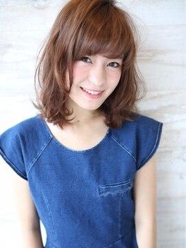 アグ ヘアー リップス星が丘店(Agu hair lips)シフォン☆ミディ