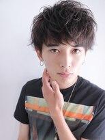 アルバム シンジュク(ALBUM SHINJUKU)サイドパートショートラフシャープマッシュショート_4161