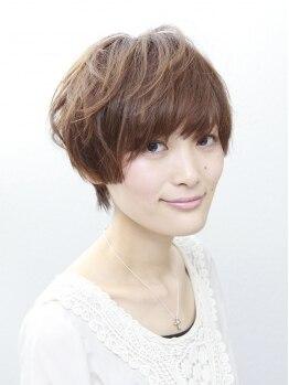 カサネ(kasane)の写真/ショートやボブのヘアスタイルが得意!アウトラインの細かい点にも気を配り可愛いスタイルを作り上げる♪