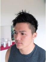 ジャムヴィーボ(Hair Make JAM Vivo)アシメ×ソフモヒヘア