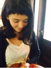 リベルテ(liberte)前髪短い☆ロングボブ【くせ毛を生かすカット】