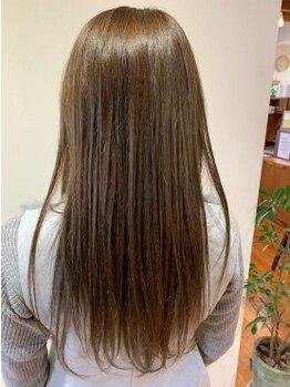ファーレ fareの写真/ダメージレスで種類豊富な薬剤が魅力的♪髪質に合わせてオススメの薬剤を見極めてくれる髪に優しいサロン◎