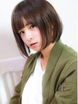 エトネ ヘアーサロン 仙台駅前(eTONe hair salon)ナチュラルショートボブ(イルミナカラー)