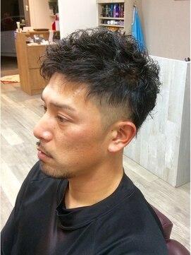 ヒストリアヘアー マツイ(HISTORIA hair Matsui) ショート ツーブロックパーマ