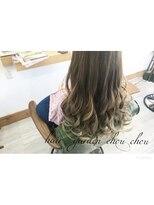 ヘアーガーデン シュシュ(hair garden chou chou)セレブ風外国人風カラーバレイヤージュMIX