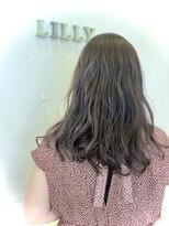 リリー ヘアーデザイン(Lilly hair design)シークレットハイライト×グレージュ