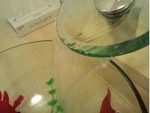 ヘアサロン スマイルの雰囲気(洗面台に金魚!?)