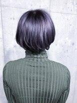 サロンドミルク 原宿(salon de MiLK)ラベンダー×マッシュモードヘア