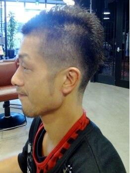 ルームヘアープレイグラウンド(RooM Hair Playground)の写真/【大和八木3分】髪質・生えグセも考慮した上質カット!喫煙ルーム、駐車場完備でメンズに人気の《RooM》★