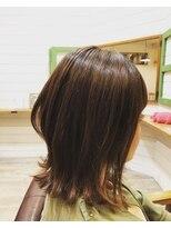 ヘアアトリエ バル(hair atelier bal)外ハネボブ