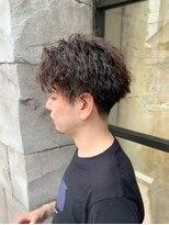 【151e_戸塚】*ツイストパーマ+かきあげヘア*