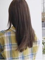 ヘアメイク オブジェ(hair make objet)春色ハイトーンロング