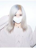 ヘアサロン エフ(HairSalon F)ホワイトスノーカラー