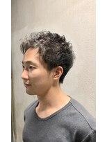 銀座マツナガ 箱崎店(GINZA MATSUNAGA)20代、30代ハードパーマスタイル
